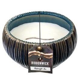 Virginia Gift Brands Ribbonwick Medium Round Midnight Sea