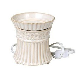 Cream Hourglass Wax Melter