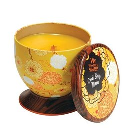 Virginia Gift Brands Woodwick Gallerie Tin Coral Berry Mimosa