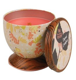 Virginia Gift Brands Woodwick Gallerie Tin Sugared Grapefruit