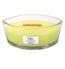 Virginia Gift Brands Woodwick Large Hearthwick Lemongrass Ellipse