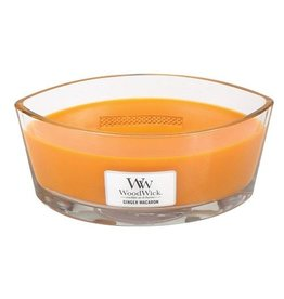 Virginia Gift Brands Woodwick Large Hearthwick Ginger Macaron Ellipse