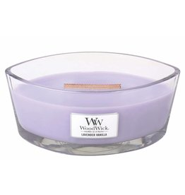Woodwick Large Hearthwick Lavender Vanilla Ellipse
