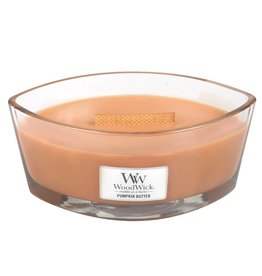 Woodwick Large Hearthwick Pumpkin Butter Ellipse