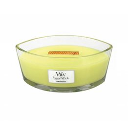 Woodwick Large Hearthwick Lemongrass & Lily Ellipse