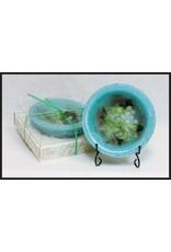 Habersham Candle Co Gardenia & Water Lily Wax Pottery