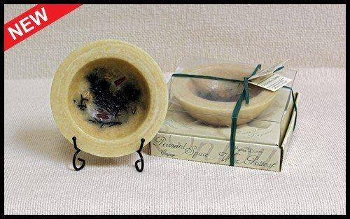 Habersham Candle Co Cinnamon Bark Wax Pottery Personal