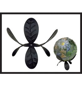 Habersham Candle Co Black Trillium Sphere Stand