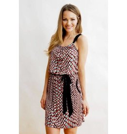 Kokoon J5248 Moxie Red Hot Sundress M