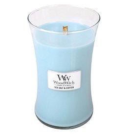Virginia Gift Brands Woodwick Sea Salt & Cotton-Large