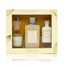 Thymes GoldLeaf 25th Anniversary Fragrance Gift Set