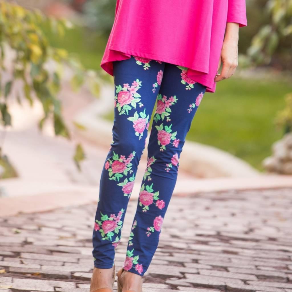 Go2 Legging Rosy Blues XL