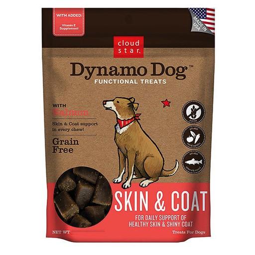 Cloud Star Cloud Star Dynamo Dog Skin & Coat Salmon 5oz