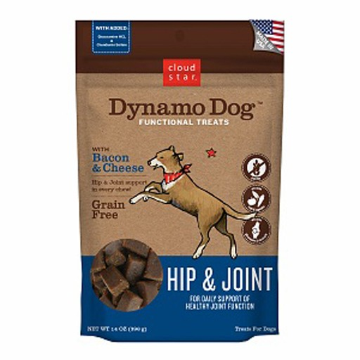 Cloud Star Cloud Star Dynamo Dog Hip & Joint Bacon & Cheese 5oz