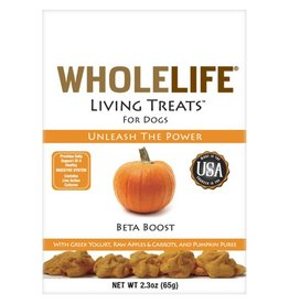 Whole Life Whole Life Living Treats Pumpkin Beta Boost 2.3oz