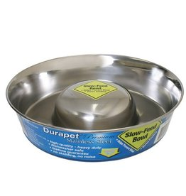 Our Pets Durapet Slow Feed Bowl Medium
