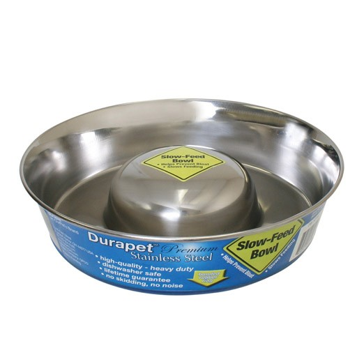 Our Pets Durapet Slow Feed Bowl Large