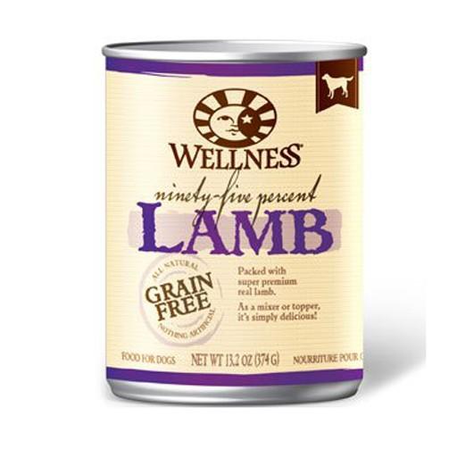 Wellness Wellness Dog 95 Percent Can Lamb 13oz
