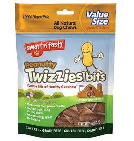 Emerald Pet Products Twizzies Bit Pouches Peanutty 10oz