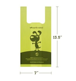 Earth Rated Earth Rated Unscented PoopBags w/Handles 120ct