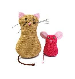 Petlinks Petlinks Knit Nipper / Cat & Mouse