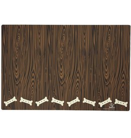 Ore Pet Chocolate Biscuit Wood Grain Placemat