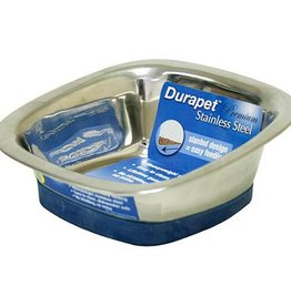 Our Pets Our Pets Durapet Square Bowl Small