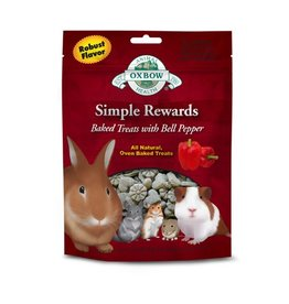Oxbow Oxbow Simple Rewards Baked Treats w/ Bell Pepper, 2oz