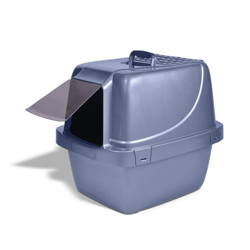 "Vanness Vanness Enclosed Litter Pan Large 19x15x16"""