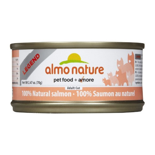 Almo Almo Nature Cat 100% Salmon in Broth 70g