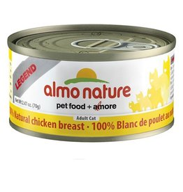Almo Almo Nature Cat 100% Chicken Breast in Broth 70g