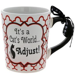 "Tumbleweed Tumbleweed ""It's a Cat's World""  Mug 20oz"