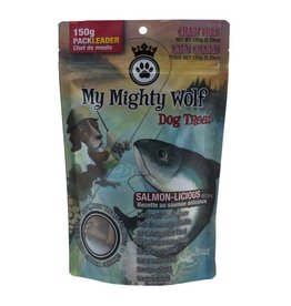 Waggers Waggers My Mighty Wolf Dog Treats Salmon 150g