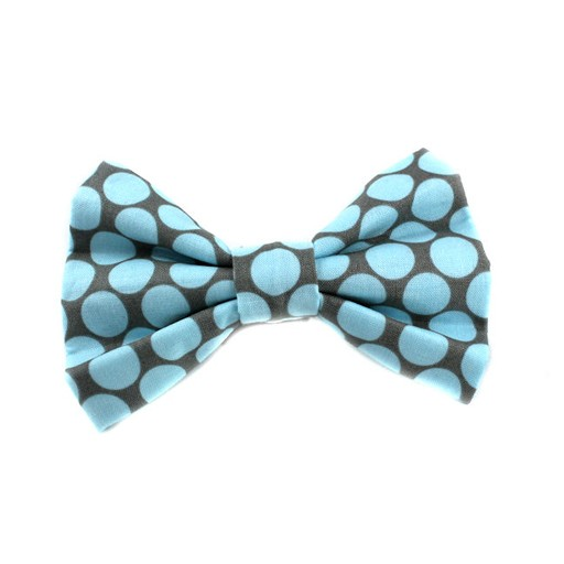 Bow Wow Couture Bow Wow Couture Fresh Dots Honey Blue Bow Tie