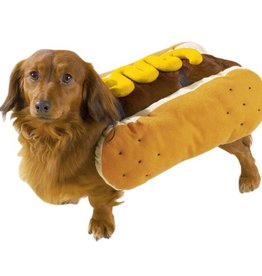 Casual Canine Hot Diggity Dog Costume Mustard