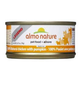 Almo Almo Nature Cat 100% Chicken and Pumpkin in Broth 70g