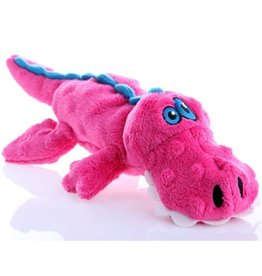 Go Dog Go Dog Chew Guard Animals Pink Gator Large