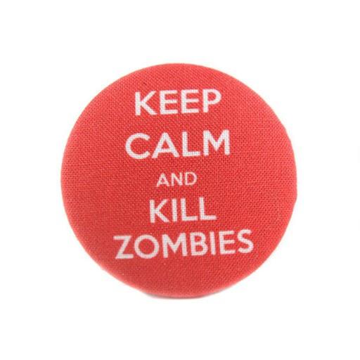 Bow Wow Couture Bow Wow Couture Collar Flair Keep Calm & Kill Zombies