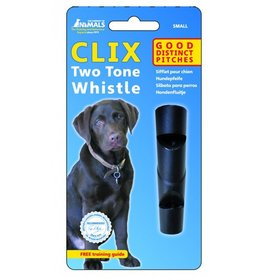 The Company of Animals Clix Two Tone Whistle Small