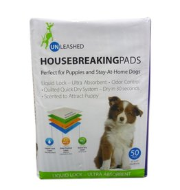 Unleashed Housebreaking Pads 50pk