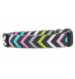 Bow Wow Couture Bow Wow Couture Mini Chic Chevron Collar