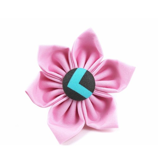 Bow Wow Couture Bow Wow Couture Mini Chic Chevron Flower