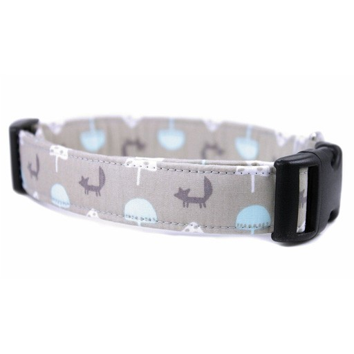 """Bow Wow Couture Bow Wow Couture Foxy Forest Cat Collar 3/8"""""""