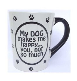 "Tumbleweed Tumbleweed ""My Dog Makes me Happy…""  Mug 20oz"