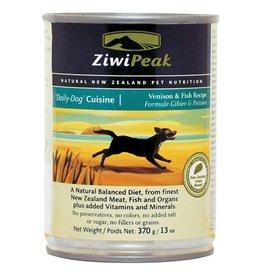 ZiwiPeak ZiwiPeak Dog Can Daily Cuisine Venison & Fish 13oz