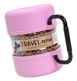 Gamma2 Vittles Vault Home Travel-tainer Pink