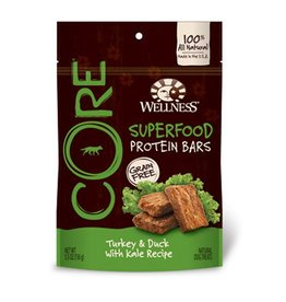 Wellness Wellness CORE Superfood Protein Bars Turkey & Duck With Kale