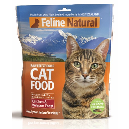 K9 Natural K9 Feline Natural Freeze Dried Chicken & Venison 125g