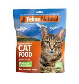 K9 Feline Natural Freeze Dried Chicken & Lamb 125g