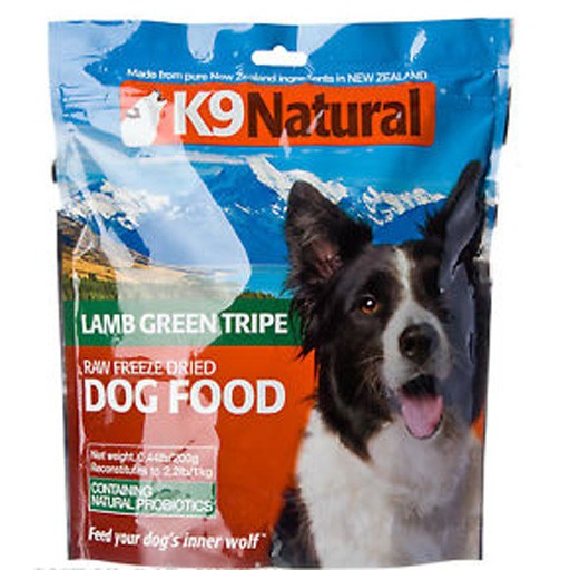 K9 Natural K9 Natural Freeze Dried Lamb Green Tripe 200g